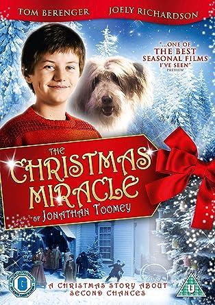 Lil Ron Ron Christmas.Amazon Com The Christmas Miracle Of Jonathan Toomey Dvd