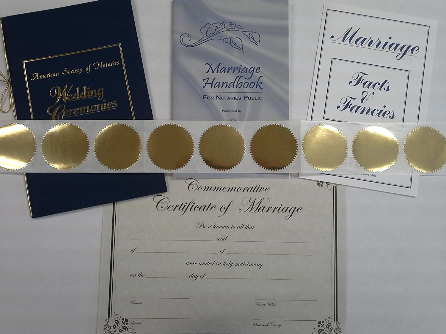 Amazon Notary Marriage Kit Office Products