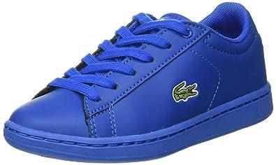 8007ed239b Lacoste Sport Carnaby Evo 317 5, Baskets Basses Mixte Enfant, Bleu (Blu)