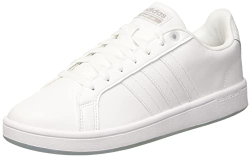 separation shoes 3c370 adb46 adidas neo Mens Cf Advantage FtwwhtFtwwhtGretwo Leather Sneakers - 8 UK