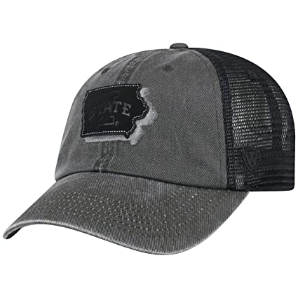 watch 11927 caa51 Amazon.com   Top of the World Iowa State Cyclones Tow Black Land Mesh Adj. Relax  Hat Cap   Sports   Outdoors