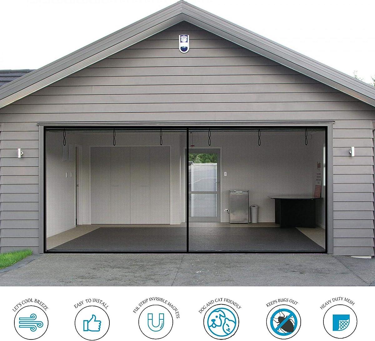 Exclusive garage door screen