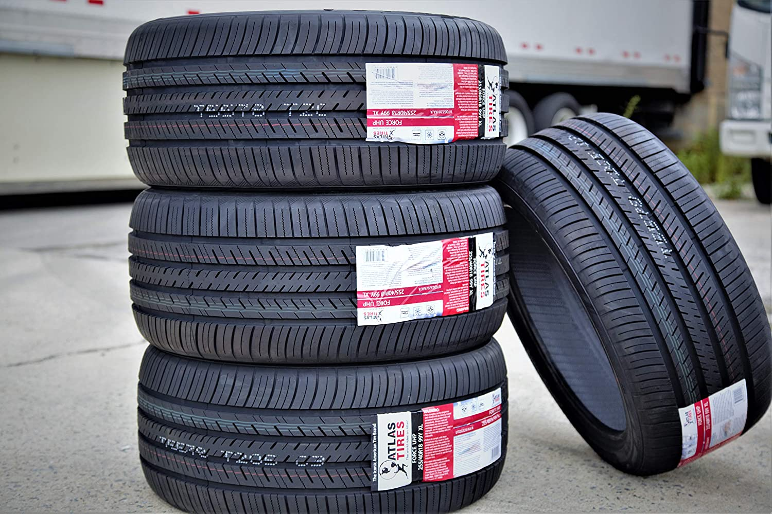 Atlas Tire Force UHP Ultra-High Performance All-Season Radial Tire-235//40R19 96Y XL