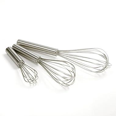 Norpro Balloon Wire Whisk Set of 3 Stainless Steel Stir/Mix/Beat 6  /8 / 10