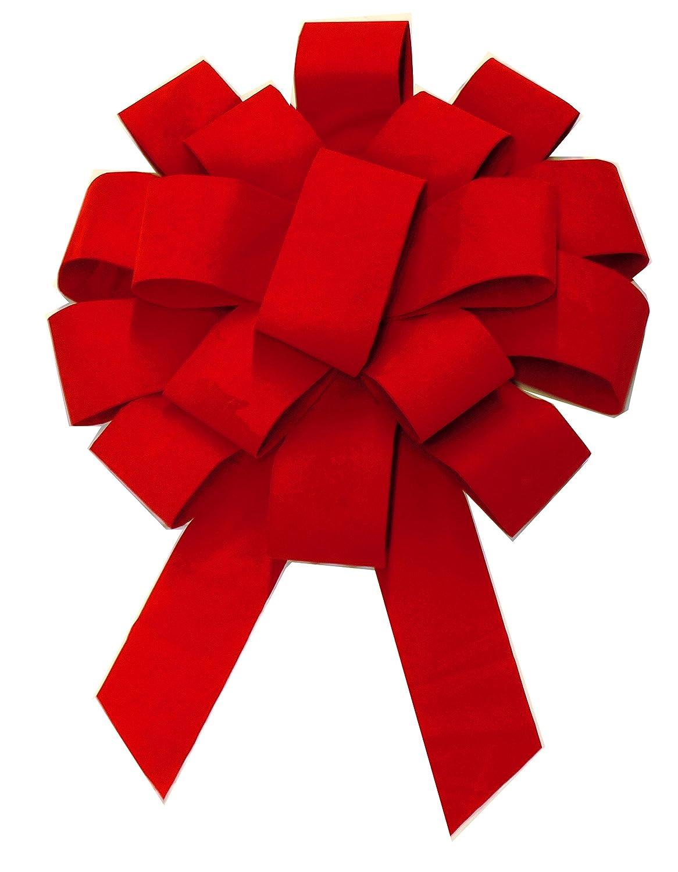 Forum Giant Velvet Car Bow 43 Red Gift Wrap Bows