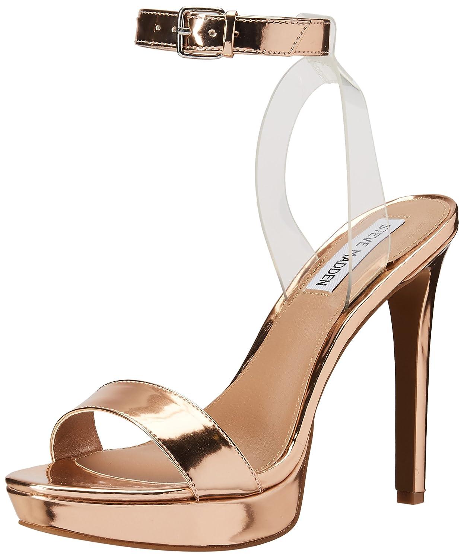 pink gold Steve Madden Womens Casita Open Toe Casual Slingback Sandals