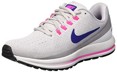 best sneakers 82827 b6245 Nike Damen WMNS Air Zoom Vomero 13 Laufschuhe, Mehrfarbig (Vast Grey Deep  Royal