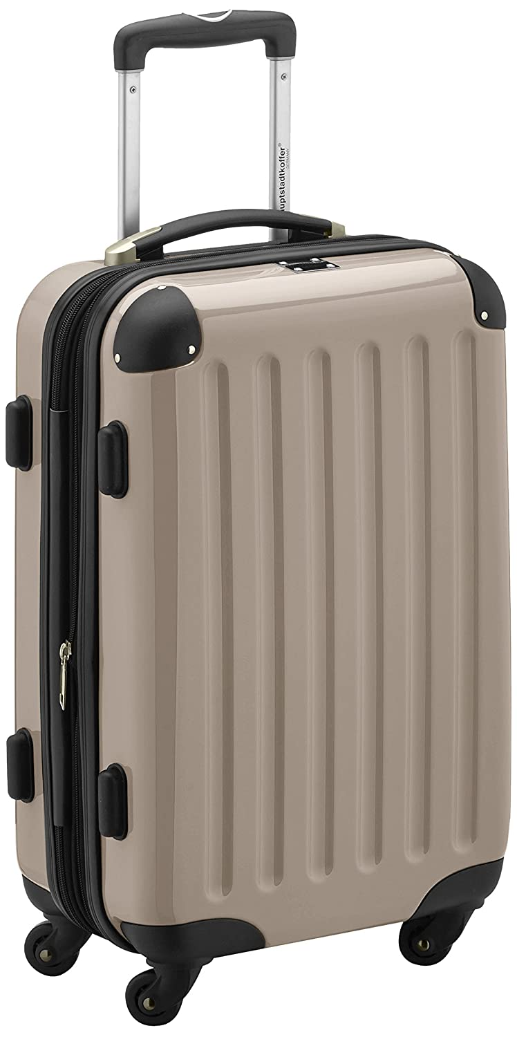 Amazon.com | HAUPTSTADTKOFFER · Boardcase · 45 liters (55 x 35 x 24 cm) · hardshell case · combination lock · Glossy Color (Champagne) | Carry-Ons