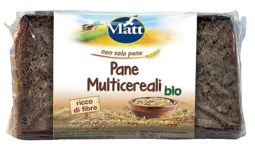 7 opinioni per Matt Pane Multicereali Bio- 500 gr- [confezione da 3]