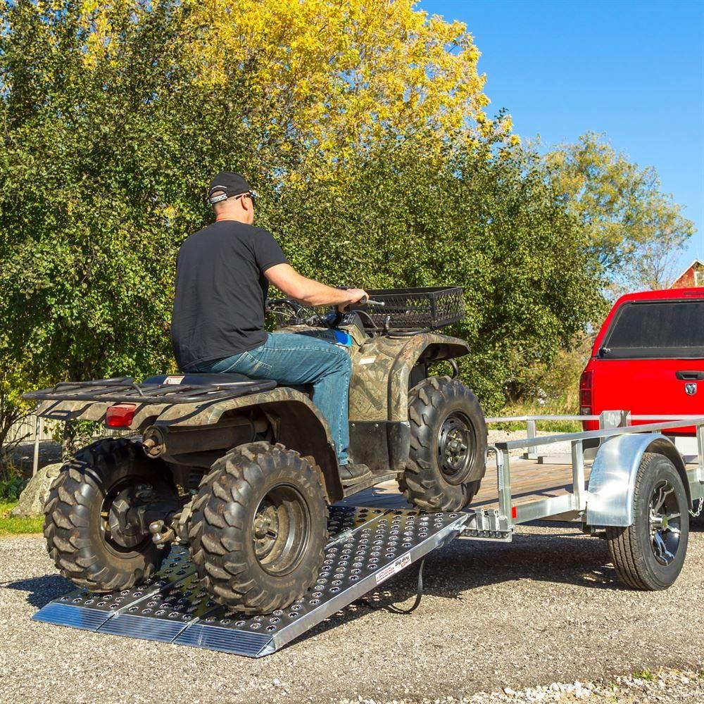 60 Wide Big Boy EZ Rizer Aluminum Tri-Fold ATV Ramps