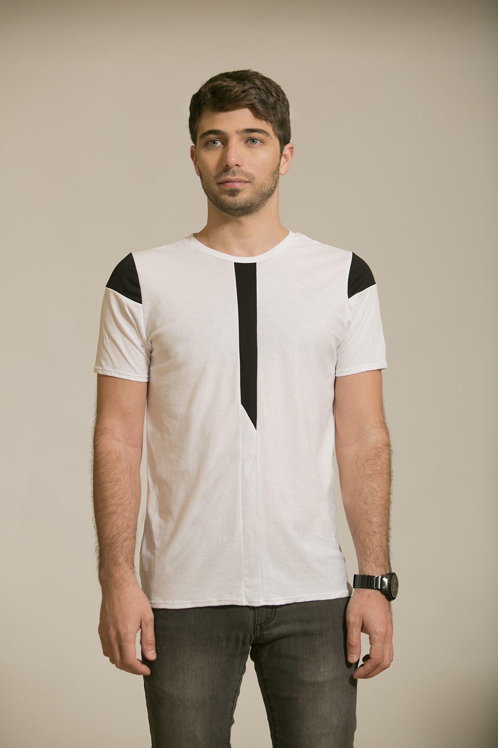 Mens shirt, Mens white shirt, short sleeve shirt, cotton shirt, Mens tshirt white, tshirt cotton, shirt minimalist, clothing fashion