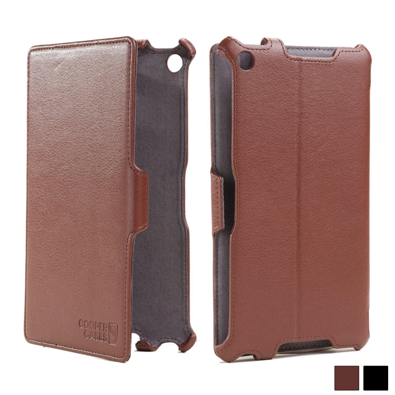 buy popular 6b67b 72901 Cooper Cases(TM) Prime Google Nexus 7 (2013) Folio in Brown (Premium  Pleather Cover, Reinforced Frame Design, Automatic Sleep/Wake, Multiple  Angle ...