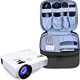 Luxja Carrying Bag for DR.J Mini Projector, Portable Case for Mini Projector and Accessories (Fits Most Major Mini Projectors