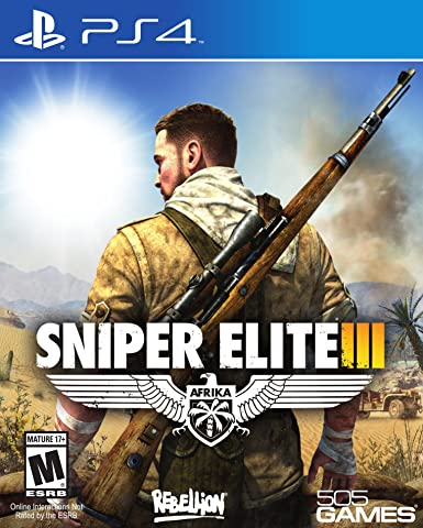 505 Games Sniper Elite 3 PS4 - Juego (PlayStation 4, Shooter, RP ...