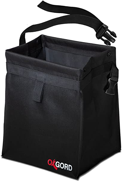 Car Trash Can Garbage Bag - Organizer Interior Accessories Waste Basket Bin Best for Hanging Font on Back Seat Auto Litter Container - Vehicle Bags Cans Holder for Automotive Cars SUV Truck Mini-Van