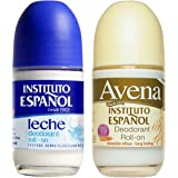 Instituto Espanol 24 Hour Avena Deodorant Roll On Combo (2 Pack).. HPVagr