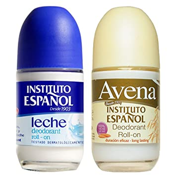 Amazon.com : Instituto Espanol 24 Hour Avena Deodorant Roll On Combo (2 Pack).. HPVagr : Beauty