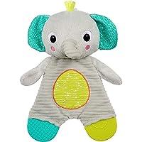 Bright Starts Snuggle & Teethe Plush Teether - Elephant, Ages Newborn +