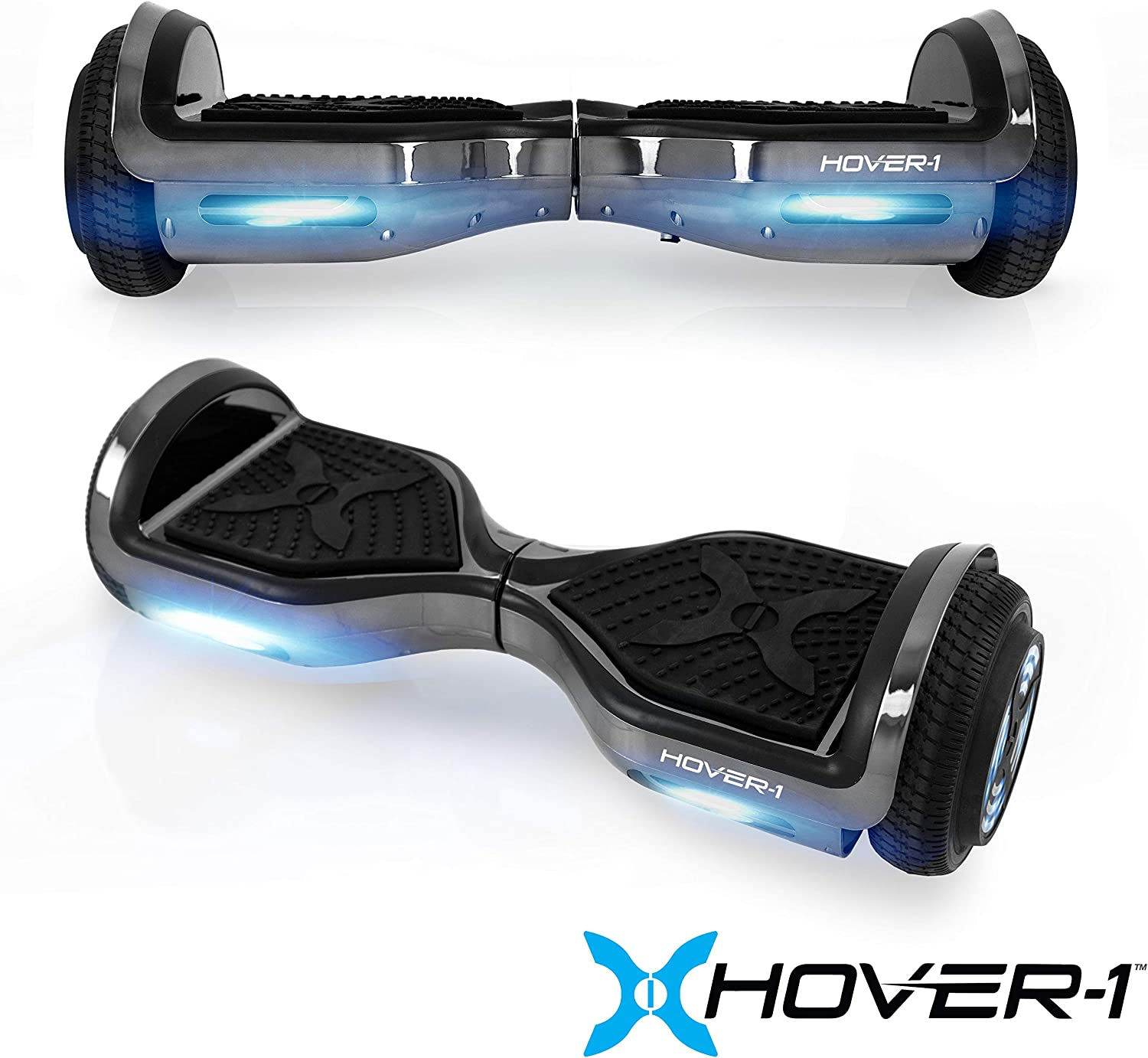 Hover-1 Chrome Electric Hoverboard Scooter Gun Metal - 3