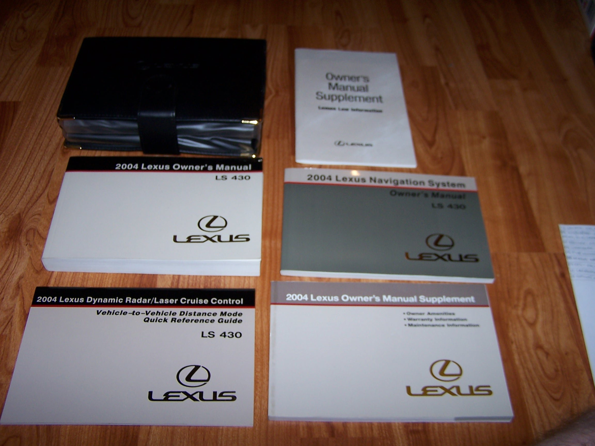 2004 lexus ls430 ls 430 owners manual lexus amazon com books rh amazon com 2001 lexus ls430 service manual lexus ls 430 owners manual