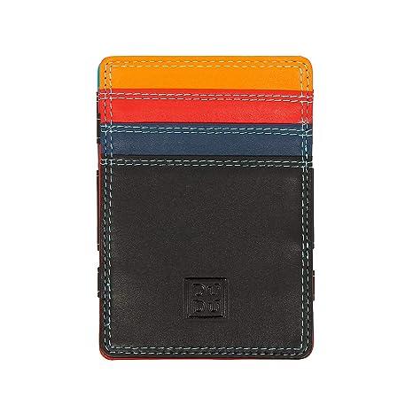 DUDU Portafoglio Magico Uomo Magic Wallet in Pelle Multicolore Colorato con  6 Slot Carte di credito. Scorri sopra l immagine per ingrandirla cad68a255c5a
