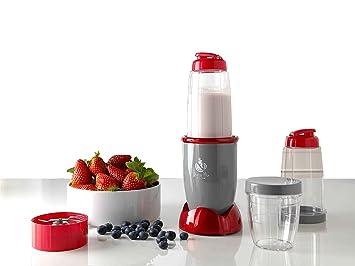 ECO-DE Batidora Licuadora, Smoothie Maker Eléctrica, Dietamix 2 Vasos de 600ml + 1 Vaso de 300ml + 2 Tipos de Cuchillas Intercambiables, Libre de BPA: ...