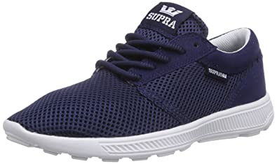 wholesale dealer 7bf96 78cce Supra Hammer Run, Chaussons Sneaker Adulte Mixte - Bleu (Navy - Bone NVY)