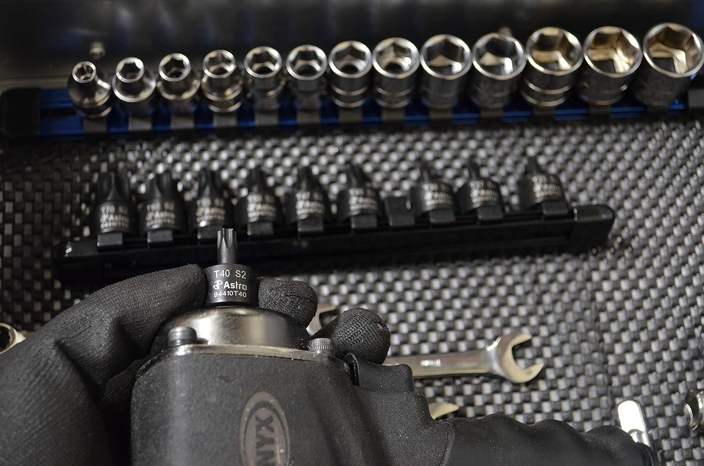 Astro Pneumatic Tool 94410T 10pc 3//8 Drive Nano Impact Torx Bit Sockets