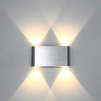 Merveilleux Louvra Applique Murale LED 4W Intérieur Lampe Décorative Moderne Créatif  Originale Éclairage Design Lumiaire Aluminium Pour
