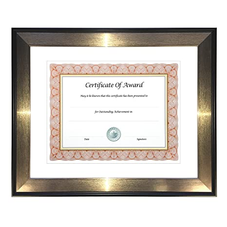 Amazon.com: nu-dell Director Series Document & Photo Frame, 8 1/2 x ...