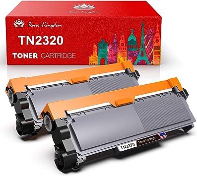 Toner Kingdom 2 Pack Cartucho de tóner Compatible Brother TN2320 ...