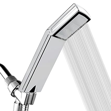 High Pressure Shower Head For Low Water Pressure Supply Pipeline   Luxury  Handheld Showerhead With Patented