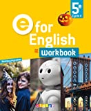 E for English 5e (éd.2017) - Workbook - version papier