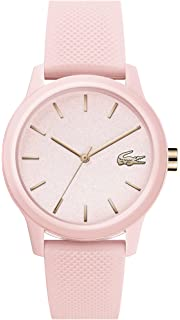 Lacoste Womens Ladies Lacoste.12.12 Quartz TR-90 and Rubber Strap Casual Watch,