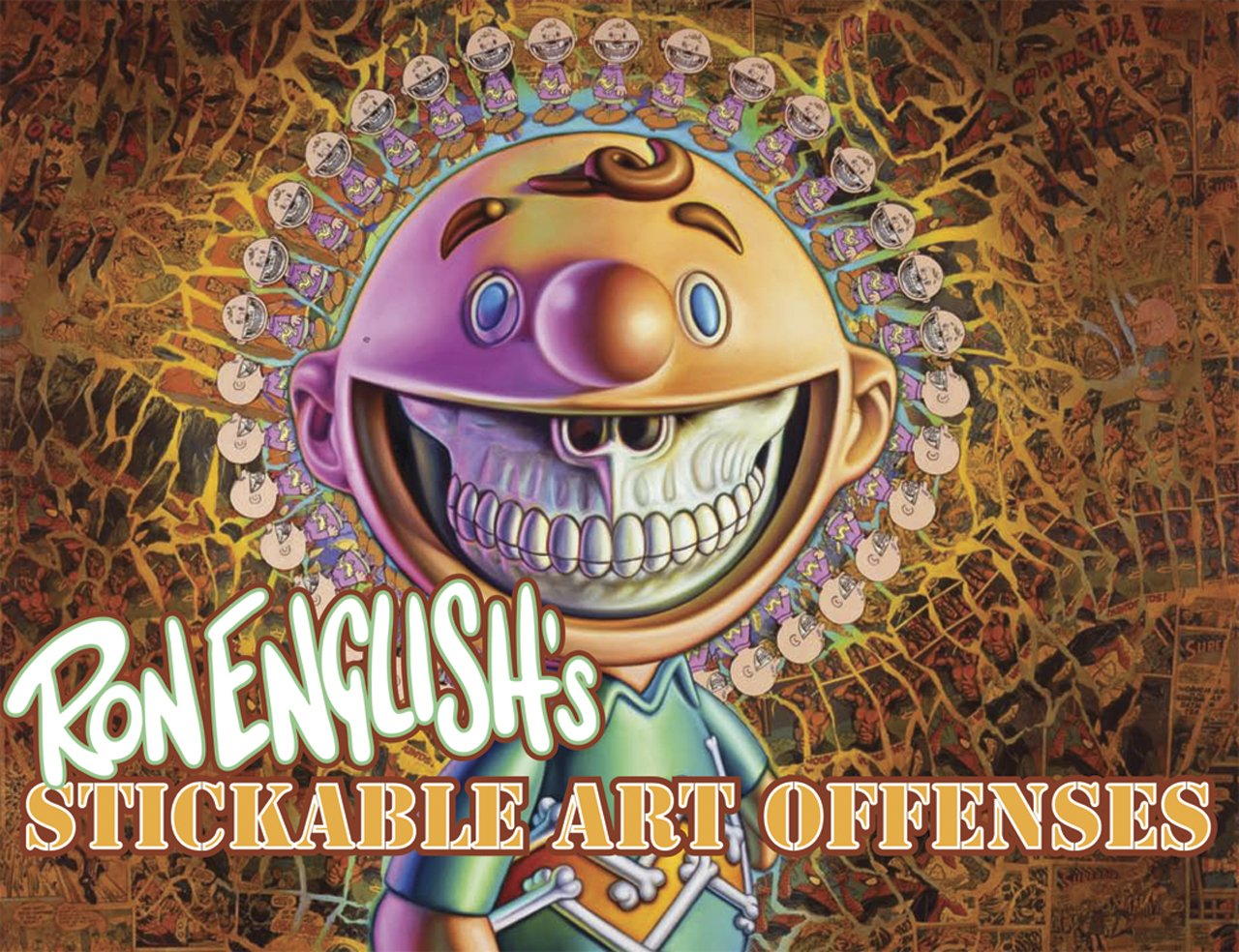 Ron Englishs Stickable Art Offenses: Amazon.es: English, Ron ...