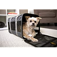 Sherpa Travel Original Deluxe Airline Approved Pet Carrier, Medium, Charcoal