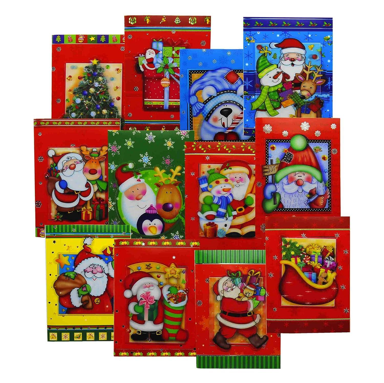M & M MARS M2 - Tarjeta de Navidad Musical con diseño de ...