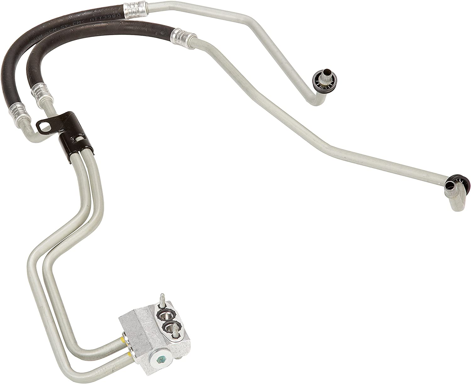 Gasket and Bolt ACDelco 20828695 GM Original Equipment Engine Oil Cooler Hose Kit with Bracket