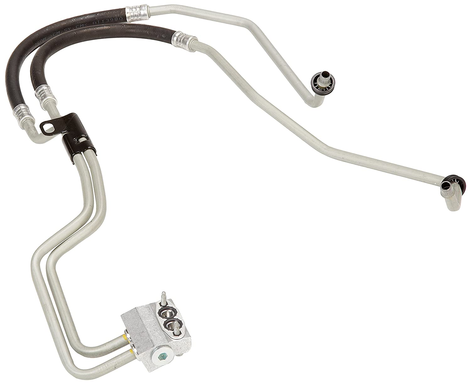 ACDelco 20828695 GM Original Equipment Engine Oil Cooler Hose Kit with Bracket, Gasket, and Bolt