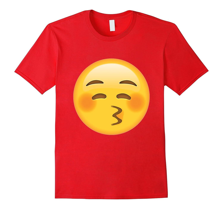 Angel Smiling Face Emoji T Shirt-TJ
