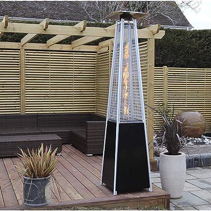 Calefactor de Exteriores Calefacción jardín 13kw Jardín ...