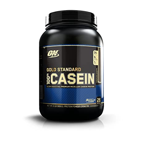 Optimum Nutrition Gold Standard Casein Protein Powder With Glutamine And Amino Acids Shake By On Chocolate Supreme 26 Servings