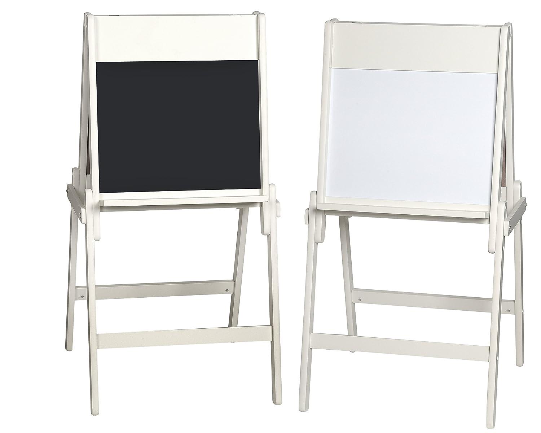 GiftMark Children's Easel with Blackboard Dry Erase Board Kids Furniture
