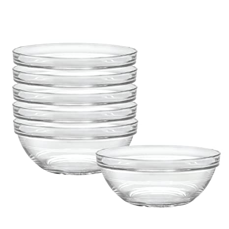 Duralex Made In France Lys 6-3/4-Inch Stackable Clear Bowl  sc 1 st  Amazon.com & Amazon.com: Duralex Made In France Lys 6-3/4-Inch Stackable Clear ...