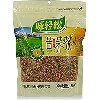 咏轻松 云南雪域高原特产 黄苦荞茶 全胚芽苦荞茶 500克/袋