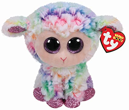 9a50dec8cec Ty Beanie Boo s Soft Toy Daffodil the Sheep  Amazon.co.uk  Toys   Games