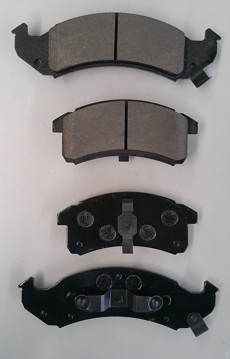 Both Left and Right SMD623 Semi Metallic Disc Brake Pads Set - Front Stirling