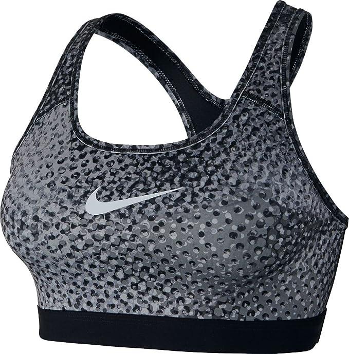 Nike Pro Classic Kaleidoscope Sujetador Deportivo Dry Fit Negro ...