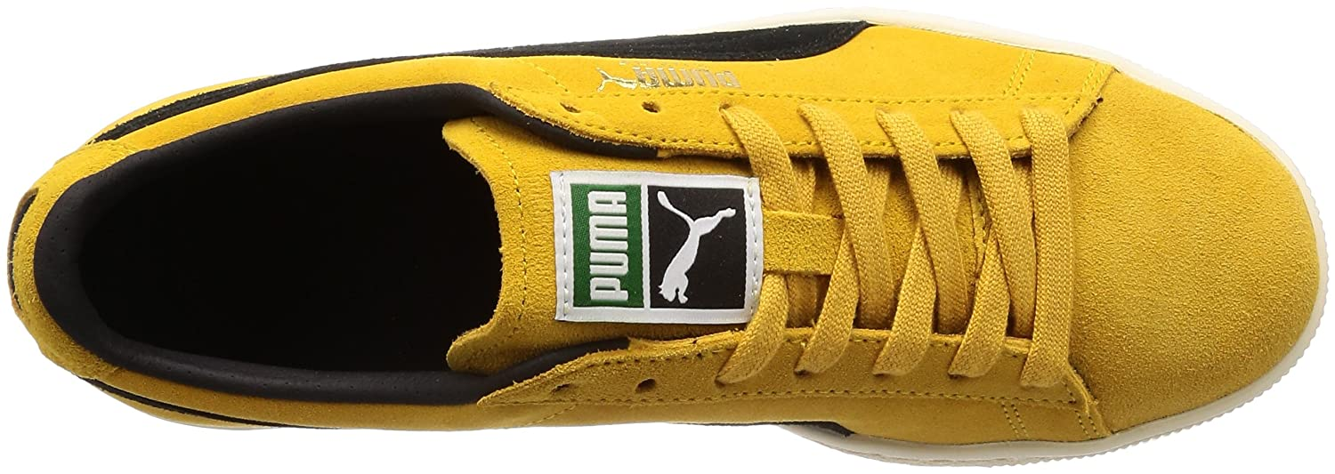 f8286b04d0bb Puma Unisex s Suede Classic Archive Yellow Sneakers-9 UK India (43 EU)  (36558703)  Buy Online at Low Prices in India - Amazon.in