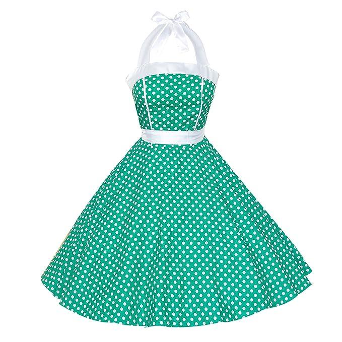 Una Sola Pieza para Mujer Maggie 1950s Vintage Rockabilly e Instrucciones para Hacer Vestidos: Amazon.es: Ropa y accesorios